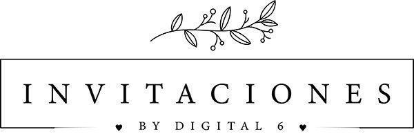 Invitaciones de boda personalizadas Logo